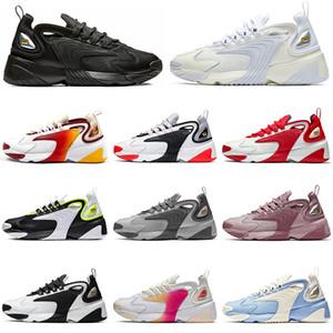 Nike zoom 2k Fashion Tekno Zoom 2K Кроссовки Дизайнер Роскошные Мужчины Женщины 2000 Черный Белый Оранжевый Темно-синий Плоские Спортивные кроссовки Мужские кроссовки