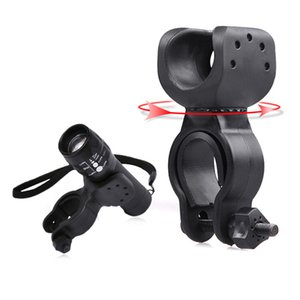 Torch Clip Mount Bicycle Front Light Bracket Flashlight Holder 360 Degree Rotation Safety & Survival Z0625