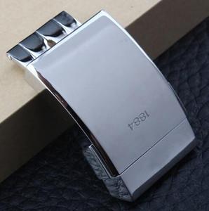 Fibbia di lusso in acciaio Stainess di spessore per cinturino Breitling 20 * 20mm Lucidatura doppio Click Catenaccio accessorio per orologio da donna