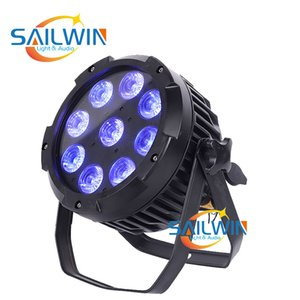 UK Stock 9x18W 6in1 RGBAW UV IP65 batterie étanche sans fil LED Powered Par lumière DJ scène d'éclairage
