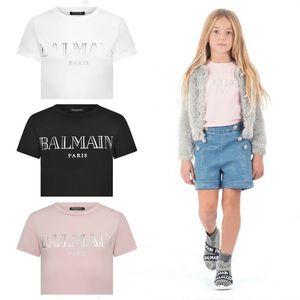 Balmain Kinder Stylist Kleidung der Qualitäts-Jungen-Baby-Kind-Junge Stylist Kleidung Baby-Kleidung Kinder mit kurzen Ärmeln