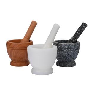 Abschleifblätter Cudgel Stampfe Rolls Grinder Handarbeit Knoblauchbreis Pfundern Mühle Steinmörser Menage Spice Kitchen Supplies 4 8TQ C2