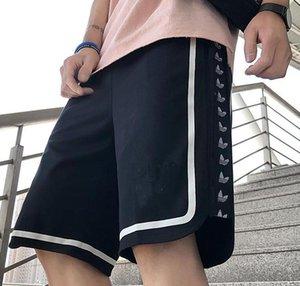 nouveau pantalon de piste casual nouveau short pour hommes fitness course de sport en vrac design hommes de la rue de la hanche de la hanche de coton marée