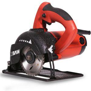 BAIWEN scie électrique scie circulaire charpentier scie circulaire machine de découpe de haute puissance tailles multiples offrent des options