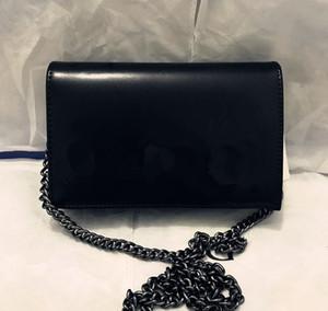 Borsa a spalla singola borsa messenger di alta qualità Popolare in catena di designer di borsa spalla inclinata