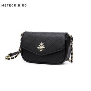 Les nouveaux sacs à main femmes sacs Rhombus sacs à main chaîne style design style rock Brochage Couleur Loisirs frotter le prix de revient assez