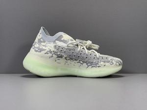 Kanye 380 V3 Citrin Alien Black White Alien Green Yellow Pink Sneaker Men Women Fashion Running Shoes