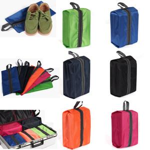 1 Stücke Wasserdichte Tragbare Schuhe Tasche Hängbare Reise Tote Toilettenartikel Wäschesack Aufbewahrungskoffer Faltbare Organizer Container