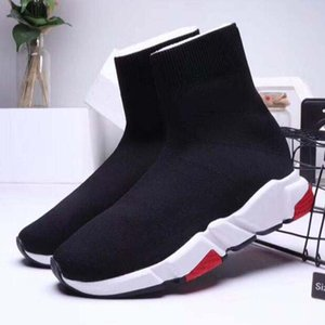 New Designer Casual shoes Sneakers Speed Runner Fashion Shoes Sock Triple Black Boots Red Flat Trainer Men Women Casual Shoes Sport f1n