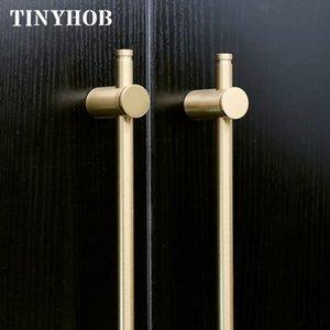 stile europeo / brass Lunga oro Cabinet Handles T200107 armadio armadio cucina tira cassetto maniglie delle porte maniglia della mobilia Hardware