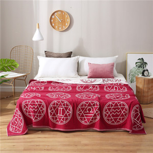 Summer Pure Cotton Six Layer Gauze Towel Blanket Bedspread for Adult Kids Sofa Throw Sleeping Office Blankets Bedding 200x230cm