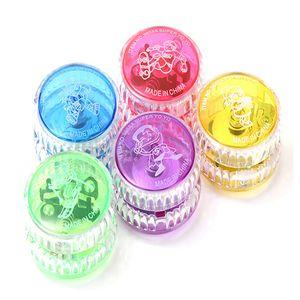 Yoyo Ball Luminous, 2018 Новый светодиодный мигающий Yo Yo Детский механизм сцепления Yo-yo Игрушки для детей Вечеринка / развлечения