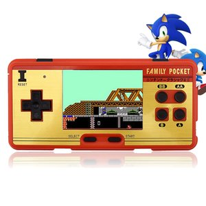 2018 Handheld Game Players Built in 638 Classic Games Family Pocket 8 Bit Retro Video Game Console Children Best Gift Two color