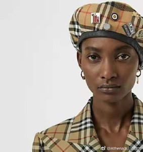 Frauen und Männern Mode und Luxusmarke Baretthut Schatten Militär Herren- und Damenhüte