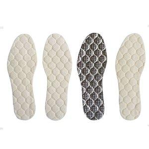 Kar Boots Ayakkabı Alüminyum Film Sıcak Taban Kış Yapay Yün Sıcak Ayakkabı Pad Ayakkabı tabanlık Unisex Ayakkabı Pad