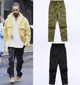 Temor de Dios Sexta temporada Ropa de trabajo Subsidios mágicos Pantalones joggers de lujo Kanye Fuera Botón con cremallera Ocio Pantalones de diseñador