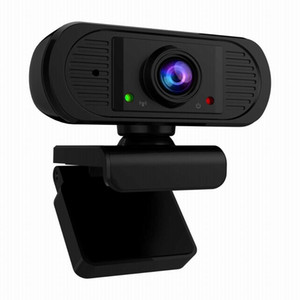 Full HD mini-USB Webcam 1080P Transmissão Web Camera manualfocus Camera Computer Webcam USB com microfones para desktop portátil