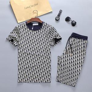 2020 mens designer tracksuits Set Fashion mens tracksuit Sports Suit Letter printing Slim Clothing designer track suit