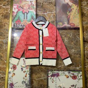Marca de moda infantil ropa de invierno suéter de otoño de alta calidad Primavera Boys School y niñas vestidos de los niños de vestir exteriores suéteres 011102