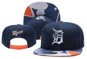 Detroit Spor şapka Kaplanlar Beyzbol Snapback Şapka Kadın Erkek Cap strapback Kalça Hop Ucuz Snapbacks Hat Caps