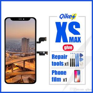herramientas de reparación uno dé al por menor de la película 100% Probado LCD Pantalla LCD para el iphone X 10 XS Max pantalla LCD de la pantalla táctil digitalizador Asamblea
