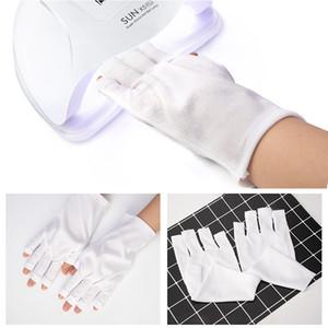 Dcovor guantes de protección radiológica Nail Art Tools Anti-uv guantes de protección de las manos para la luz ultravioleta herramientas de manicura 1 par SH190724