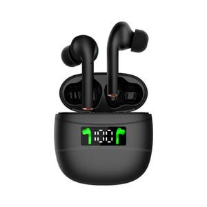 2020 Top Trending sem fio Esporte BT 5.2 J3 Pro TWS blackpods Earbuds airbuds Headset Fones de ouvido Headphone