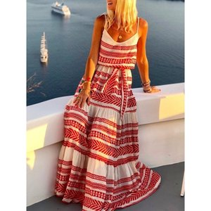 Beach Dresses And Tunic Outings Long Bathing Suit Cover Up Plus Size Lady Cover-Ups Capes Summer Stripe Kaftan Pareo Salidas Y200706
