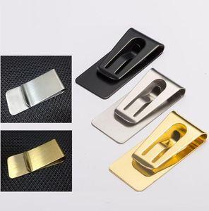패션 간단한 금속 Moneys 클립 남자 클램프 홀더 슬림 돈 지갑 클립 클램프 카드 홀더 신용 카드 홀더
