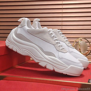 Mode Hommes Chaussures Gumboy Calfskin Sneaker à lacets style Chaussures Hommes Casual da uomo Scarpe VT795 Hommes Chaussures Footwears Origin Box Chaussures