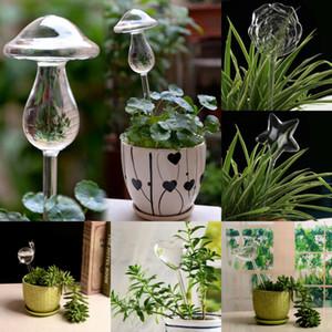 6 Stiller Cam Sulama Aracı Bitki Çiçek Su Besleyici Öz Sulama Tesisi Waterer Saksı Bitki Dekor