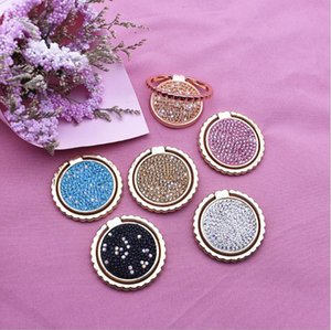 Bling Diamond Finger Ring Phone Holder Fashion Teenage style Cell Phone Holder Stand For iPhone 11 pro max X 8 7 6s Samsung S9 S8 cellphone