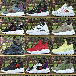2018 Nueva Nike Huarache Zapatos Ultra Running cáncer Huraches Deportes Zapatos de la zapatilla 4 atléticos hombres y mujeres de mama Huaraches zapatillas de deporte Tamaño 36-45