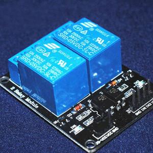 Arduino 5V 저수준 트리거 2-Way 릴레이 모듈 용 고품질 2 채널 릴레이 모듈 릴레이 확장 보드 B00562