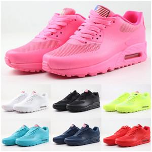 2020 90 PRM QS HYP Chaussures de course vente Independence Day Mode en ligne Zapatillas USA Drapeau Sport Sneakers des années 90 Taille 36-46 chaussures