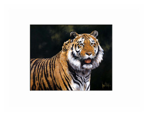 Best Gift Home Living Room Wall Art Decor Animal Tiger Oil Painting Pictures Printed On Canvas