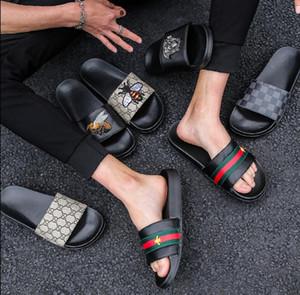 Zapatillas de marca, sandalias de marca con cinta verde rojo verde, sandalias de marca, diapositivas de diseñador, zapatos de diseñador, zapatillas de playa para hombre