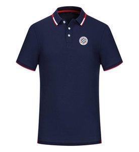 Montpellier HSC 2020 printemps et d'été nouveau coton de football polo Chemise Hommes À Manches courtes Revers polo peut être diy personnalisé hommes de polo