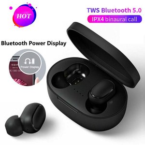 Best seller New A6S TWS Wireless Earphones Bluetooth V5.0 With Touch Control Headphones Bluetooth Headset with Mic pk i12 i11 i9s i88 i10