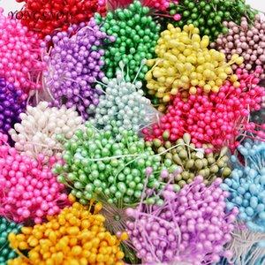 Düğün Ev Dekorasyon DIY Scrapbook Craf için Kurutulmuş Çiçekler 250pcs 3mm Mini Çiçek Stamen El yapımı Yapay Stamen Çiçek rtificial ...