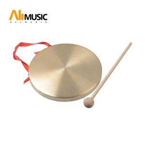 Alto Hand Gong Chapel Copper Cymbals Percussion 15CM 10CM Diameter Opera Gong