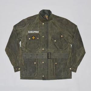 BOB DONG Internationale Joshua Gewachste Racing Jacket Steve Motorrad Mantel