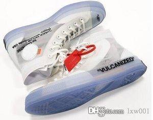 فيرجيل جميع الحجم 36-45 OFF Conve نجمة واحدة 1970s 70S Abloh الأبيض هايت قماش أحذية نسائية رجالية احذية عادية للتنفس حذاء رياضة