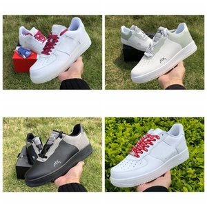 Top Quality 1 De lo mio República Dominicana 1s Mens Running Shoes 3M Tongue Mulheres Homens Trainers Sneakers COLD-WALL x Air OnesportsSize 36-45