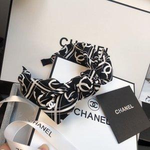 Мода стяжкой девушка Vintage вязание Витая Knotted Письмо стяжка Широких ленты для волос головного убора аксессуаров с коробкой B43