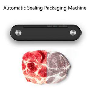 Electric Food Vacuum Sealer Household Automatic Fresh Food Packaging Machine Suction Vacuum Sealing Machine