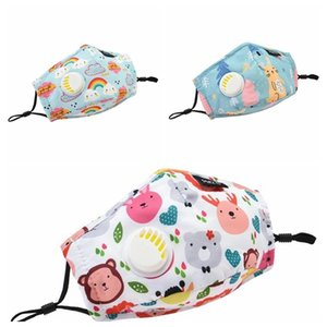Popular hot cotton new children's mask, children's mask, activated carbon filter dust-proof and sunscreen mask, including stoc PM2