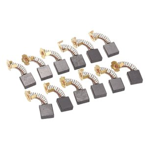 10 pieces 18mm x 17mm x 7mm Motor Carbon Brush Electric Tool for Hitachi 180