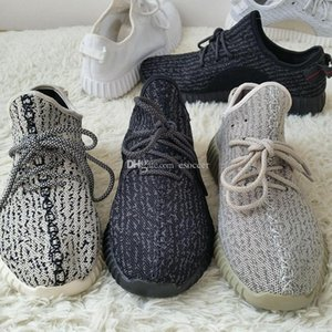 2019 Mode Moonrock Bottes Noir Chaussures respirantes Kanye West Moon Boots roche de sport Chaussures de sport avec artYEzZYSYeZzyv2 350 boost