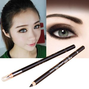 2pcs Eyeliner Pencils Long-lasting Eyeliner Pencil Waterproof Tools Pen Cosmetic Black Makeup V8S8